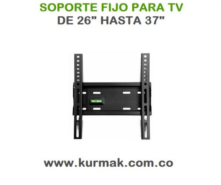 SOPORTE FIJO PARA TV DE 26 HASTA 37 PULGADAS