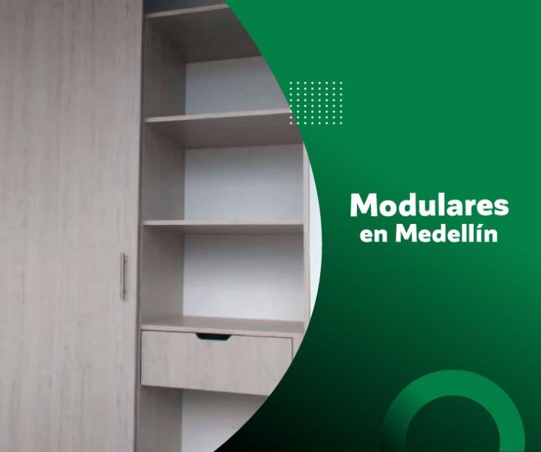 ¿Ya conocías las ventajas de los muebles modulares Medellín?