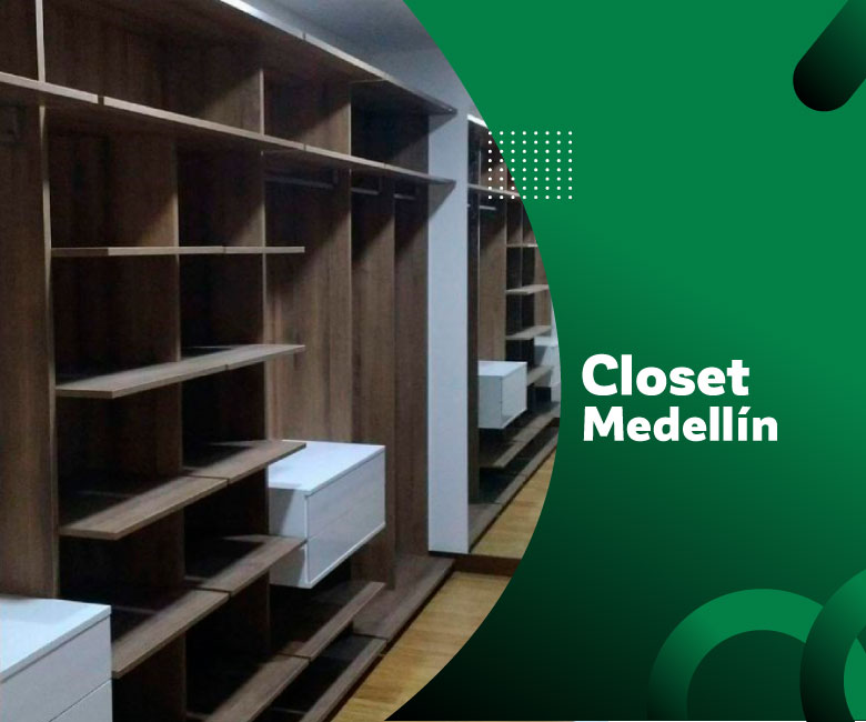 Instalación de closet Medellín